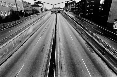 A40 während der Ölkrise 1973